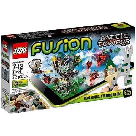 BATTLE TOWERS. FUSION. LEGO 21205
