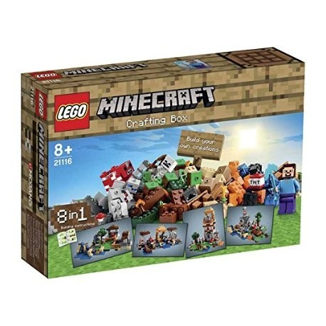 CRAFTING BOX. LEGO  MINECRAFT 21116