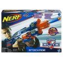 NERF STOCKADE N-STRIKE ELITE 10 DARDOS
