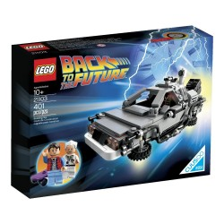 DELOREAN. REGRESO AL FUTURO. LEGO 21103