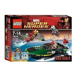 IRON MAN: EXTREMIS SEA PORT BATTLE. LEGO 76006