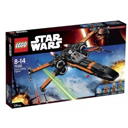 POE´S X-WING FIGHTER. LEGO STAR WARS 75102