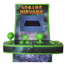 NUEVA MINI RECREATIVA PORTATIL ARCADE NIRVANA RETRO 2017. 1-2 JUGADORES